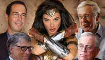 The Koch Brothers Reportedly Helped Finance 'Wonder Woman' with Bill Gates