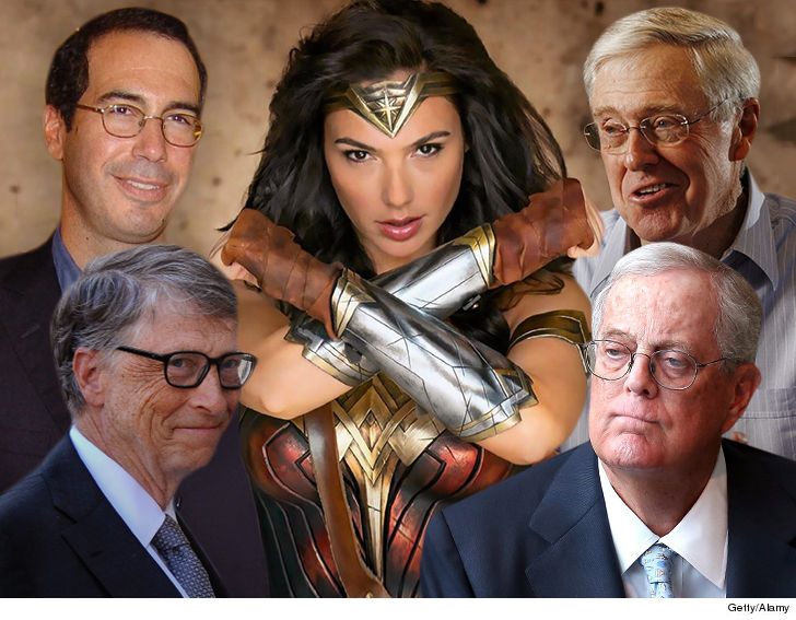Koch brothers are reportedly secret financiers of 'Wonder Woman'