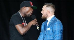 Conor McGregor's 'Monkeys' Remark Didn't Sit Well With Floyd Mayweather
