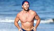 Scott Eastwood Shirtless On The Beach For Your Viewing Pleasure!