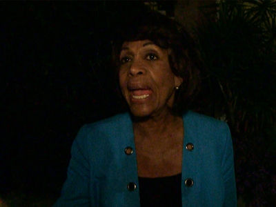 Congresswoman Maxine Waters Says Avoid War with North Korea at All Costs