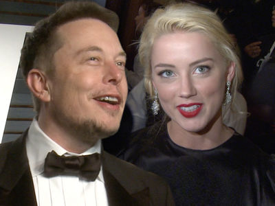 Elon Musk, Amber Heard -- 'It's Just a Normal Relationship'