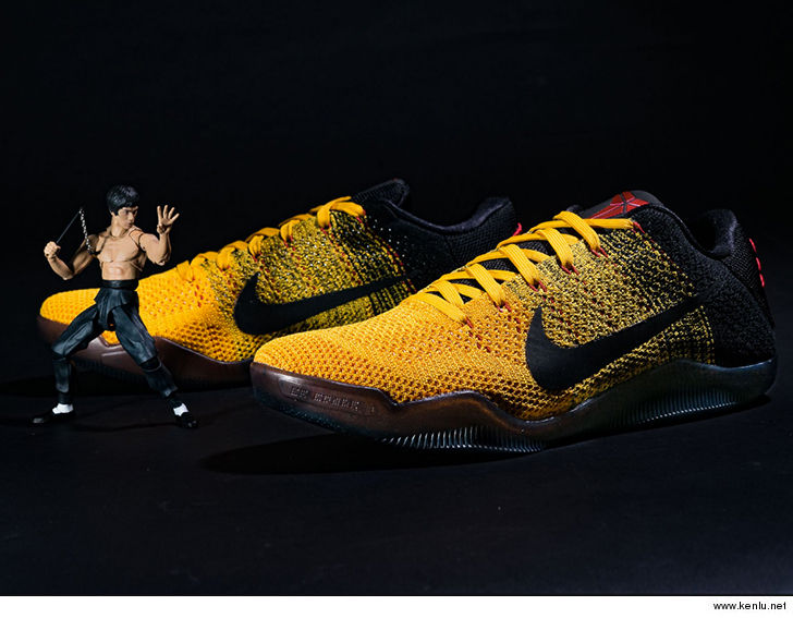 online store ebf26 4aadc Kyrie Irving Honors Kobe Bryant with Sick Bruce Lee Kicks ...