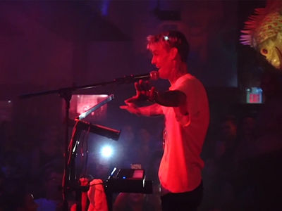 Aaron Carter Breaks Down In Tears at Gay Club