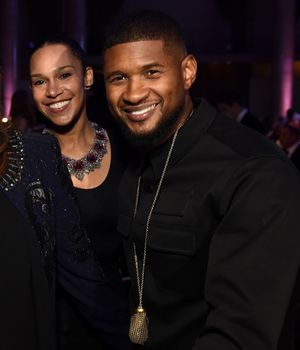 Usher and Grace Together