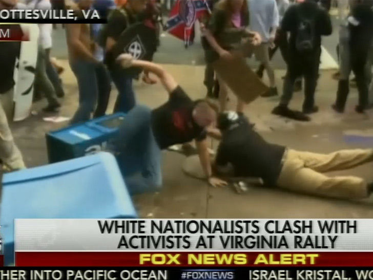 Alt-Right Rally in Charlottesville Virginia Sparks Riots, State of Emergency Declared