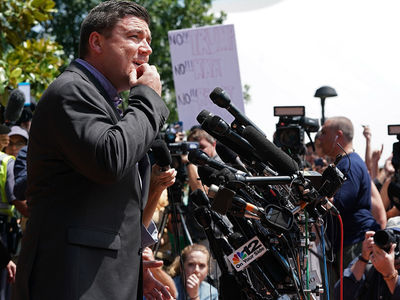 'Unite the Right' Leader Chased Away from His Own Press Conference After Charlottesville Protests