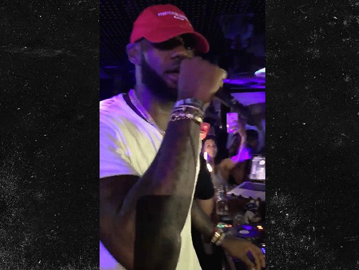 LeBron James Trolls Donald Trump with 'MAGA'-Like Hat During DJ Sesh