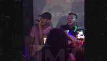 Ne-Yo Grabs Mic from Amateur at Karaoke Bar!!!
