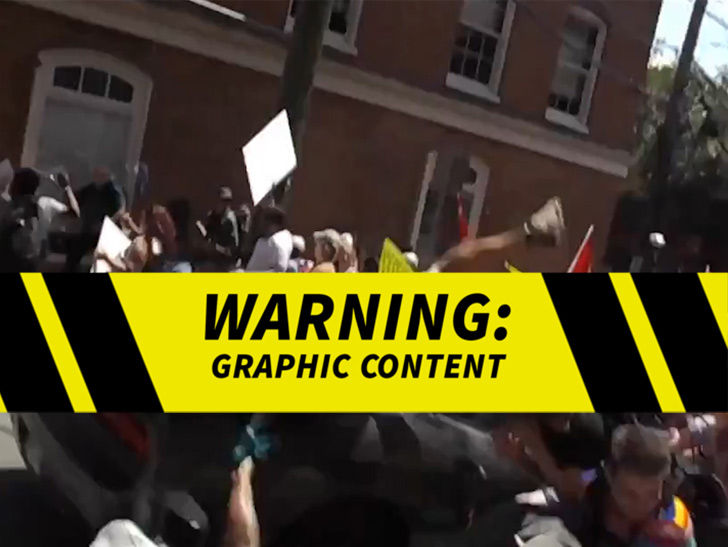Charlottesville Car Attack Graphically Captured in New Video