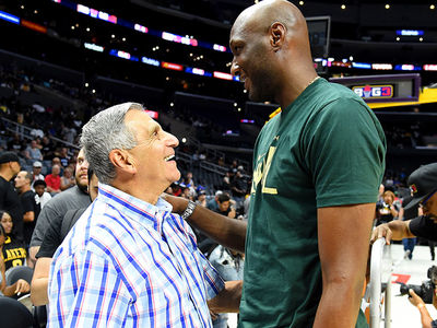 Lamar Odom Hits BIG3 Game, Talks Comeback