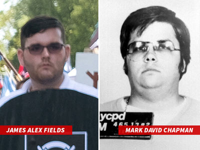 Charlottesville Killer Dead Ringer for John Lennon's Killer Mark David Chapman