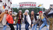 Julianne Hough Jet Sets to Ketchikan for Alaskan Cruise