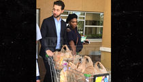 Serena Williams Takes Fetus Grocery Shopping with Fiance Alexis Ohanian
