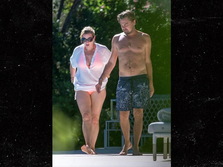 'Titanic' Stars Leonardo DiCaprio and Kate Winslet Together in Saint-Tropez