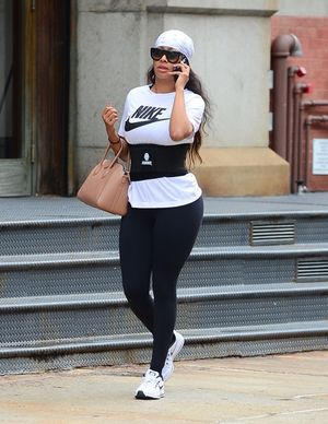 La La Anthony Steps Out In Spandex