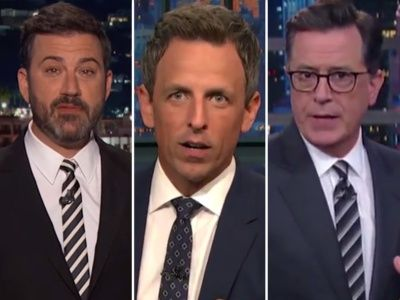 'CRAZY,' 'Unhinged' '7th Circle of HELL': Late-Night PUMMELS Trump Over Charlottesville Presser