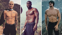 Hollywood's Hottest Hikers ... Trek Through the Shirtless Shots