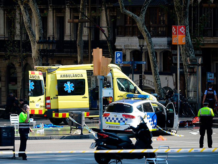 Barcelona Terrorist Attack: Fatalities and Injuries After Van Plows Through Crowd