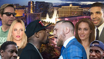 Mayweather/McGregor Fight Attracts a Slew of Big Celebrities