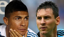 Cristiano Ronaldo & Messi: 'Stay Strong Barcelona'