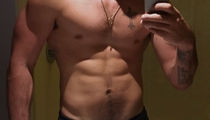 Guess Which Ripped Star Owns This Shredded Stomach in the Shirtless Selfie