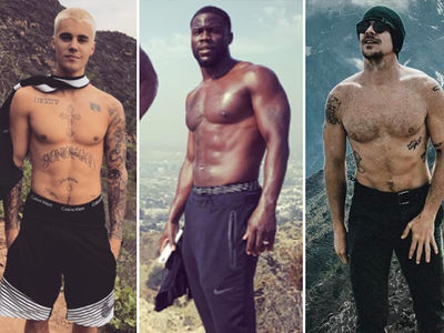 Hollywood's Hottest Hikers -- Trek Through the Shirtless Shots