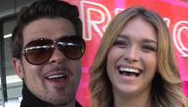 Robin Thicke's Girlfriend April Love Geary Pregnant with Girl
