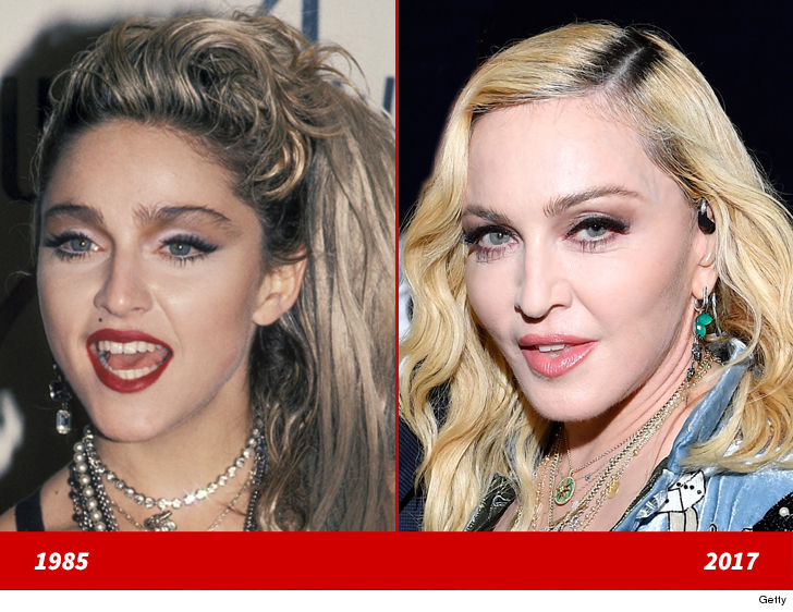 Madonna Good Genes Or Good Docs Tmz Com