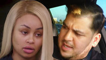 Blac Chyna Tries Jacking Rob Kardashian's Range Rover During Custody Negotiations