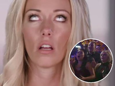 Watch Kendra's Family Reunion Go Up In Flames -- See Brother, Mom & Stepmom GO AT IT!