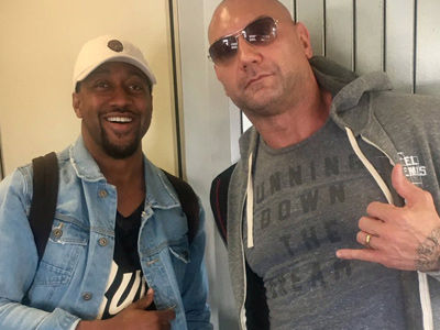 How Urkel Got Revenge on a Rude Actor Thanks to This EPIC Dave Bautista Selfie (Exclusive)