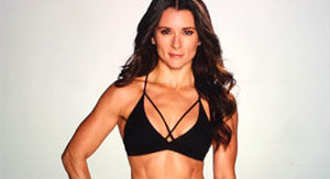 Danica Patrick Doing A Hand Stand Split In A Tiny Bikini Proves She's Got Moves & A Rocking Bod