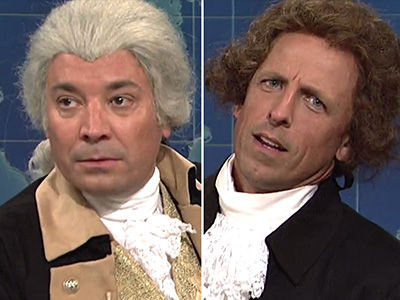 Thomas Jefferson & George Washington Distance Themselves from Trump on 'Weekend Update'