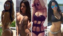 Mayweather vs. McGregor's Corona Girls Revealed, Insane Hot Pics!