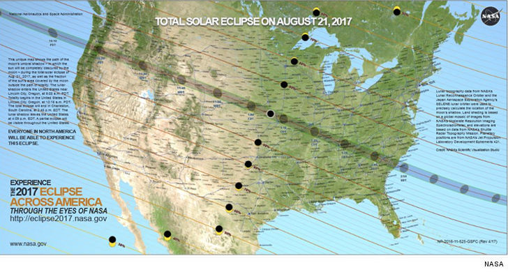 The Next Solar Eclipse Over The U S Will Be In 2024 And After That 2045