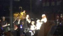Scott Stapp Huddles Family, Concert Crowd for Cool Gender Reveal