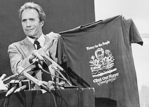 Clint Eastwood served a term as mayor of Carmel-by-the-Sea