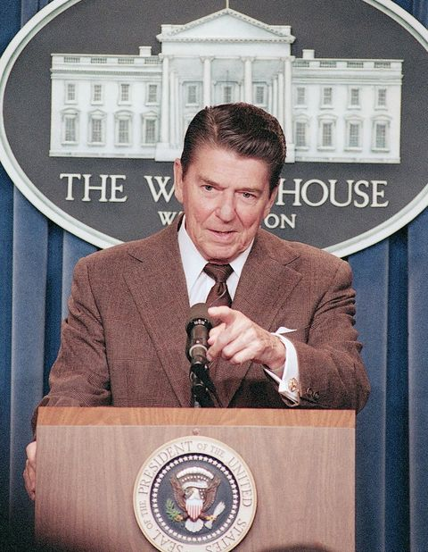Ronald Reagan moved from actor to POTUS