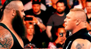 OUCH! Watch Braun Strowman Crush Brock Lesnar With Table At WWE SummerSlam