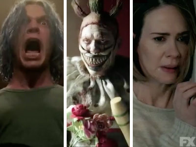 Wait'll You See How Trump Leads to a HUGE Scream In First 'American Horror Story: Cult' Trailer