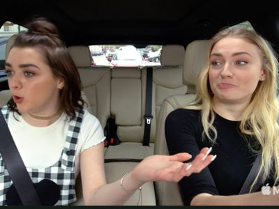 'GoT' Stars Sophie Turner, Maisie Williams CRUSH Ned Stark Impressions on 'Carpool Karaoke'