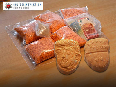 Donald Trump-Shaped Ecstasy Pills Seized in Germany