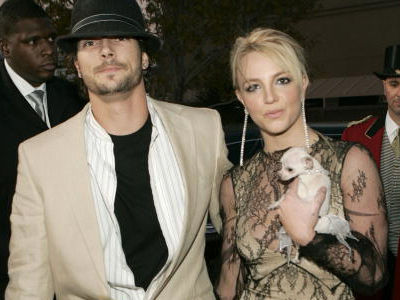 K-Fed Has Extremely RARE Night Out In Hollywood With His Wife -- Wait'll You See Britney's Ex Now!