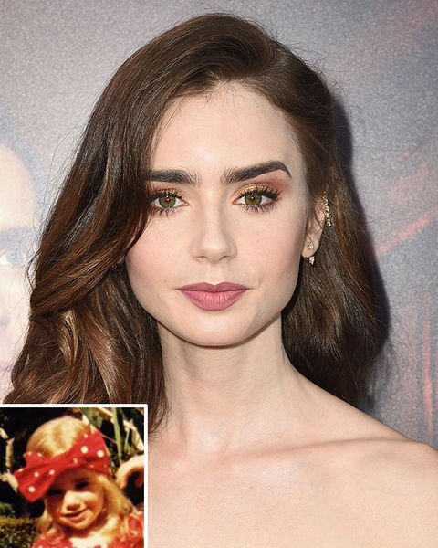 It's Lily Collins!