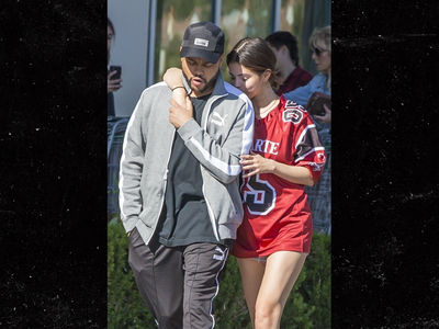 Selena Gomez & The Weeknd Clingy on Grocery Store Run