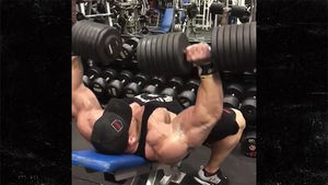 "Dallas ""Big Country"" McCarver Working Out Day Before Death"