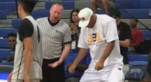 Watch LaVar Ball Lose It After Brawl Nearly Erupts In AAU Game