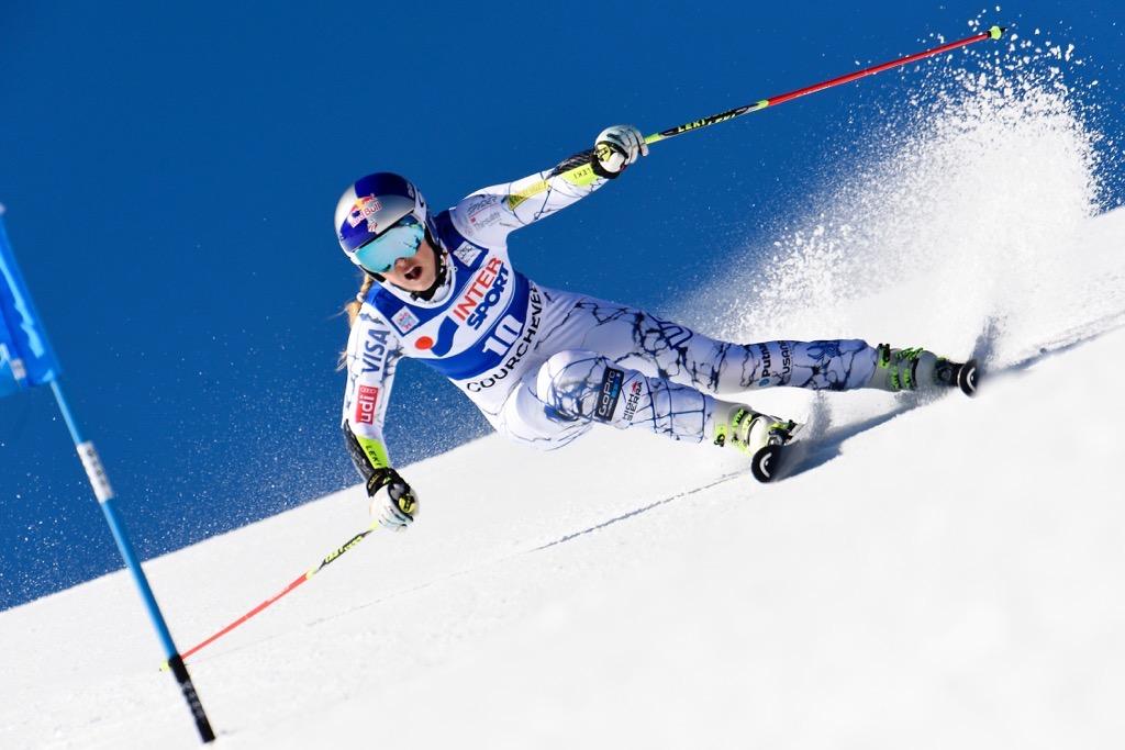 Lindsey Vonn Skiing | Photo 1 | TMZ.com