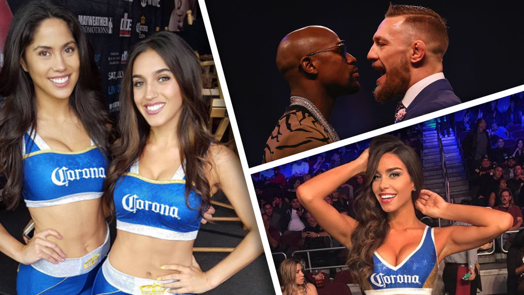 mcgregor girls Tmz sports has put our investigative resources to good use  and found out the identities of the corona girls who've been tapped to work the mayweather vs mcgregor fight you're welcome meet kyra keli, tawny jordan, jessica harbour, and samantha kumiko  4 of the women who will be working the ring during the august 26 fight.